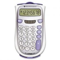 TI-1706 SV, 8-digit, giant SuperView display and dual power, change sign (+/-)