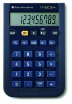 "TI-EC-3+, Euro Conversion calculator, Large 10-digit display, (+/-) key, Decimal selection function with 0, 2, or floating decimal setting, Flexible a""SETa"" function to store exchange rate for Euro, Battery powered"