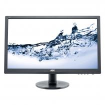 "24"" AOC LED E2460SH, 16:9, 1920x1080, 1ms, 250cd/mp, 1000:1 (20.000.000:1), 170/160, D-sub, DVI-D, HDMI, boxe, VESA, Black"