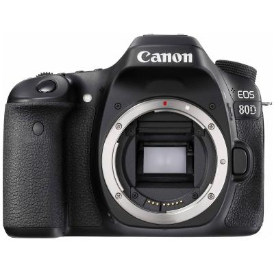 APARAT FOTO CANON EOS-80D BODY WIFI 24MP BLACK