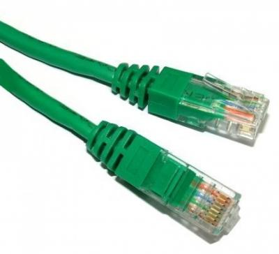 CABLU SPACER PATCH CORD CAT. 5E 2M GREEN SP-PT-CAT5-2M-G