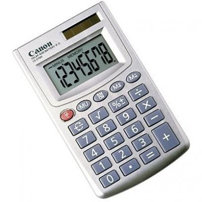 CALCULATOR BIROU CANON LS270HBL 8 DIGITI DISPLAY SILVER