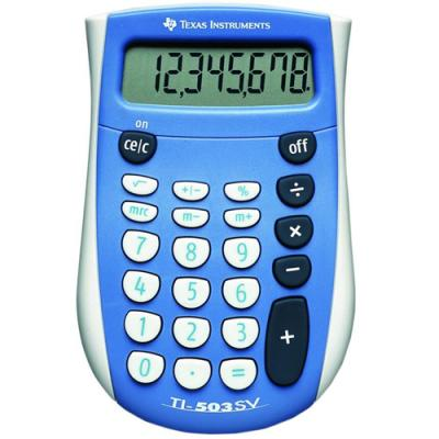 CALCULATOR BIROU TEXAS INSTRUMENTS TI-503 SV 12-DIGIT SUPERVIEW DISPLAY