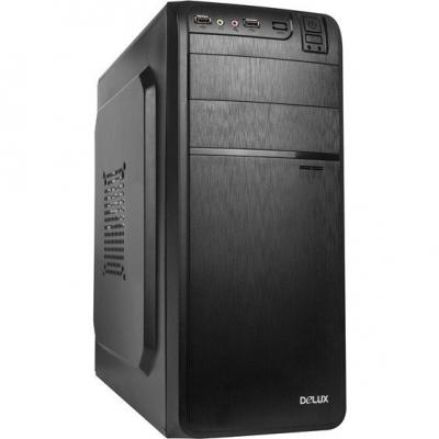 CARCASA DELUX DW600 500W MIDDLE TOWER ATX BLACK