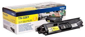CARTUS TONER YELLOW TN326Y 3,5K ORIGINAL BROTHER HL-L8250CDN