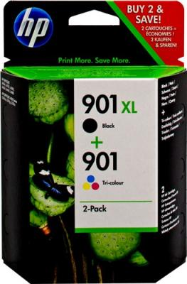 COMBO PACK NR.901 BLACK XL+COLOR SD519AE ORIGINAL HP OFFICEJET J4580