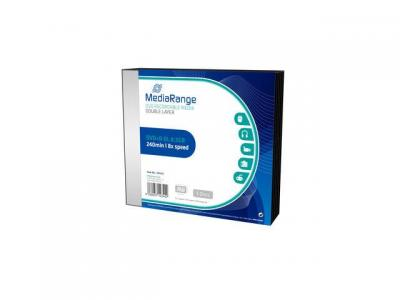 DVD+R MEDIARANGE DOUBLE LAYER 8,5GB 8X SLIMCASE PACK 5 MR465