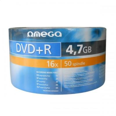 DVD+R OMEGA 4.7GB 16X SHRINK 50 OMD1650S+