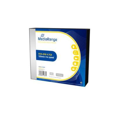 DVD+RW MEDIARANGE 4,7GB 4X SLIMCASE PACK 5 MR449