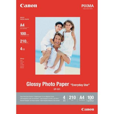 HARTIE CERNEALA CANON PHOTO GLOSSY 10X15CM 10COLI GP501S10