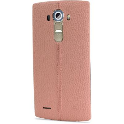 HUSA LG G4 LEATHER REPLACEMENT BATTERY BACK COVER PINK