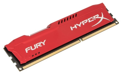 MEMORIE KINGSTON DDR III 4GB 1600MHZ CL10 HYPERX FURY RED