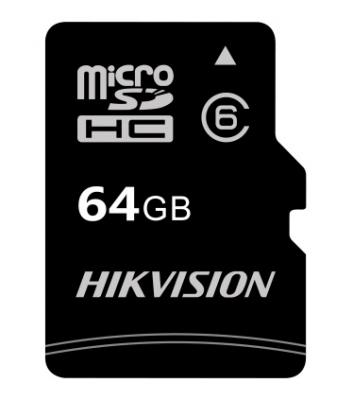 MICRO SD HIKVISION C1 MICROSDHC 64GB C10/UHS-I WITH ADAPTER