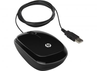 MOUSE HP X1200 WIRED BLACK