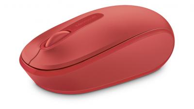 MOUSE MICROSOFT MOBILE 1850 WIRELESS RED