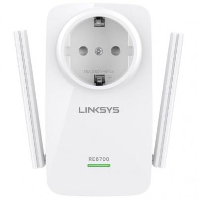 RANGE EXTENDER LINKSYS RE6700 WIRELESS AC1200 DUAL-BAND AUDIO JACK