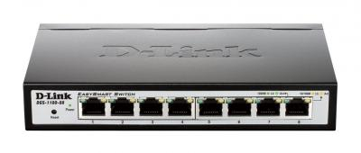 SWITCH D-LINK DGS-1100-08 DESKTOP/RACK MOUNT 8 PORTURI 10/100/1000