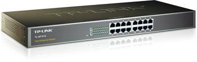 SWITCH TP-LINK TL-SF1016 16PORT 1U 19-INCH METALIC