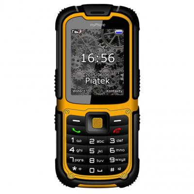 TELEFON MYPHONE HAMMER2 PLUS YELLOW
