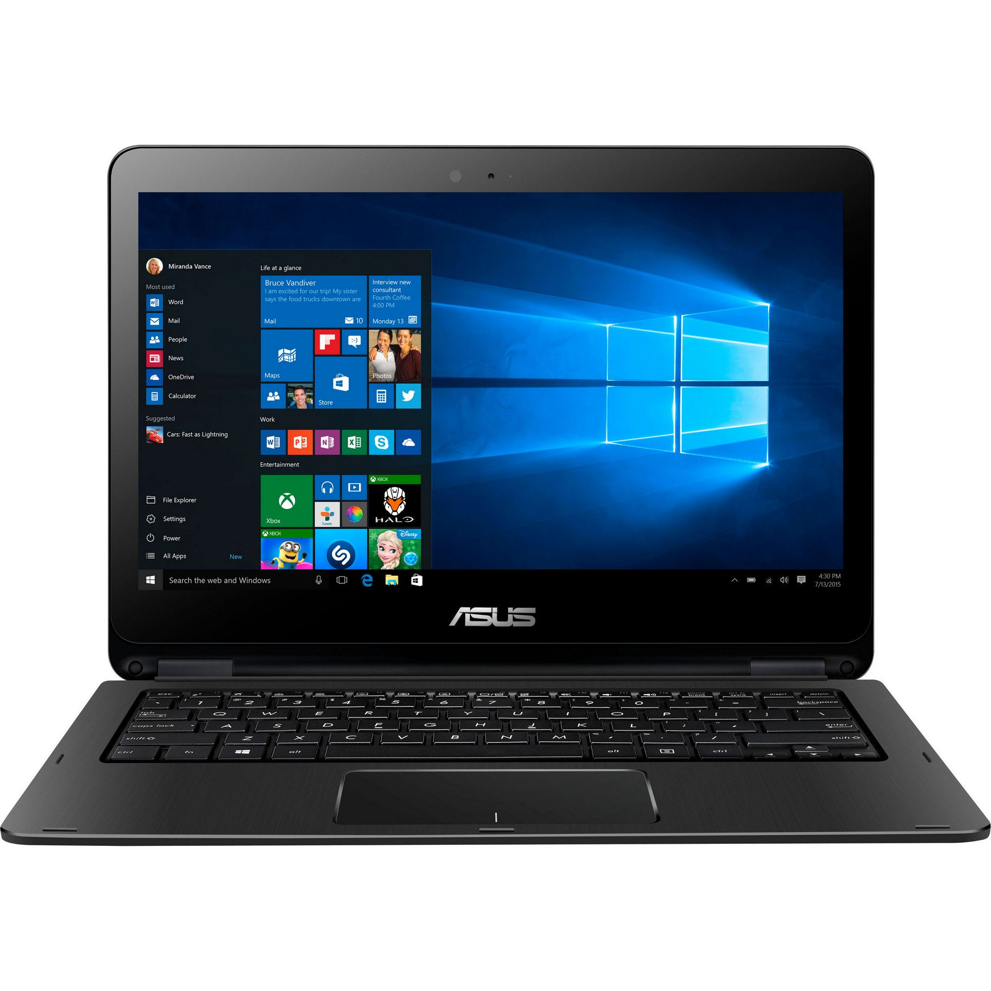"LAPTOP ASUS TP301UA-C4024T INTEL CORE I5-6200U 13.3"" TOUCH"