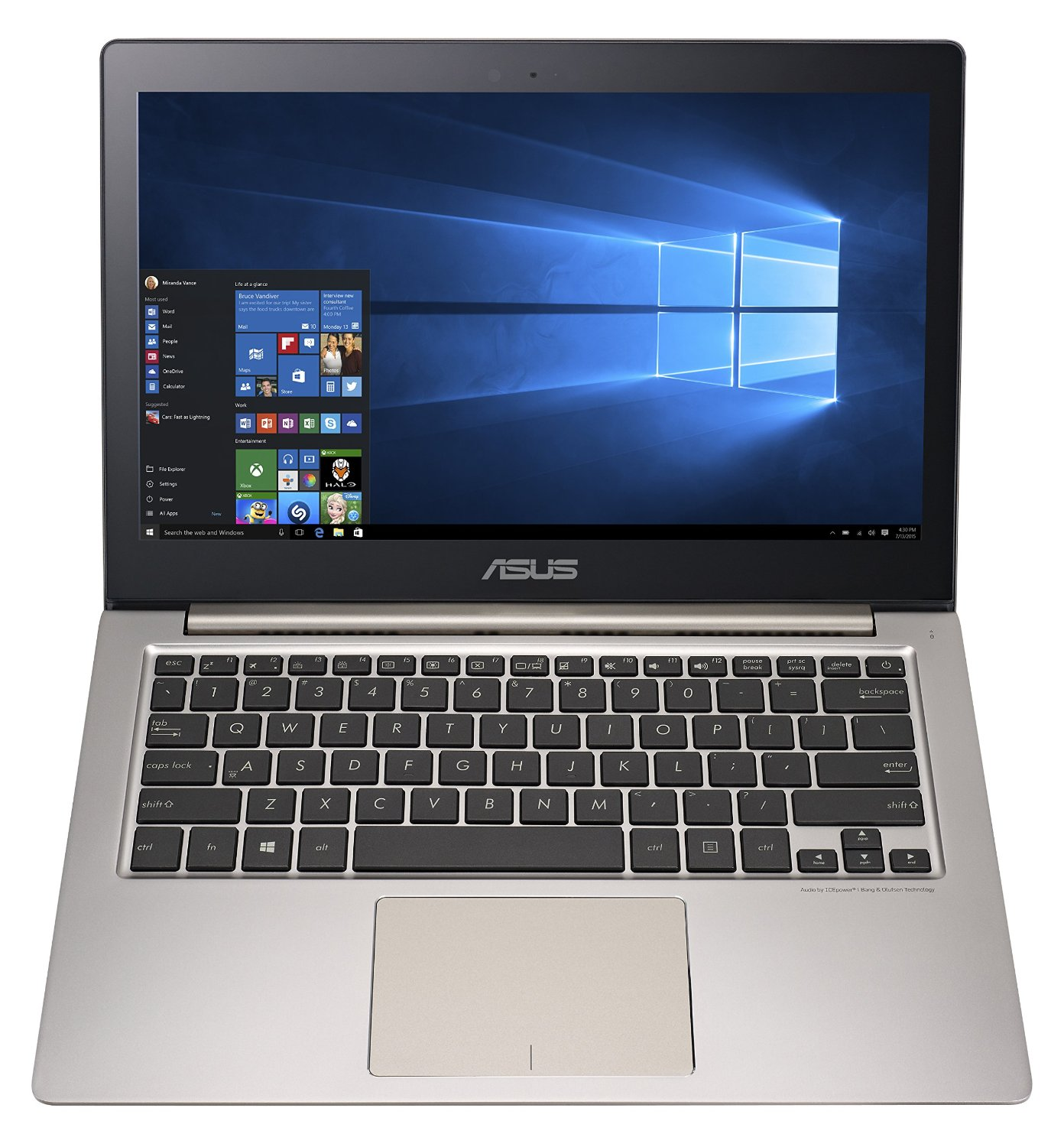 "LAPTOP ASUS UX303UB-C4047T INTEL CORE I7-6500U 13.3"" LED"