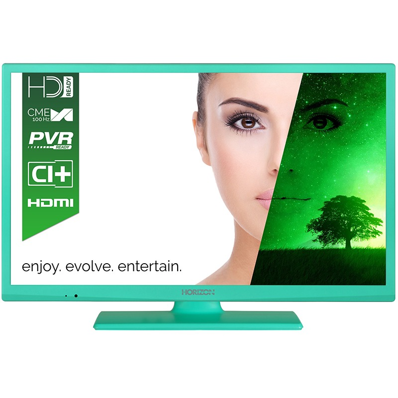 Televizor LED Horizon 61 cm HD Ready 24HL7103H USB CI+ Turqouise