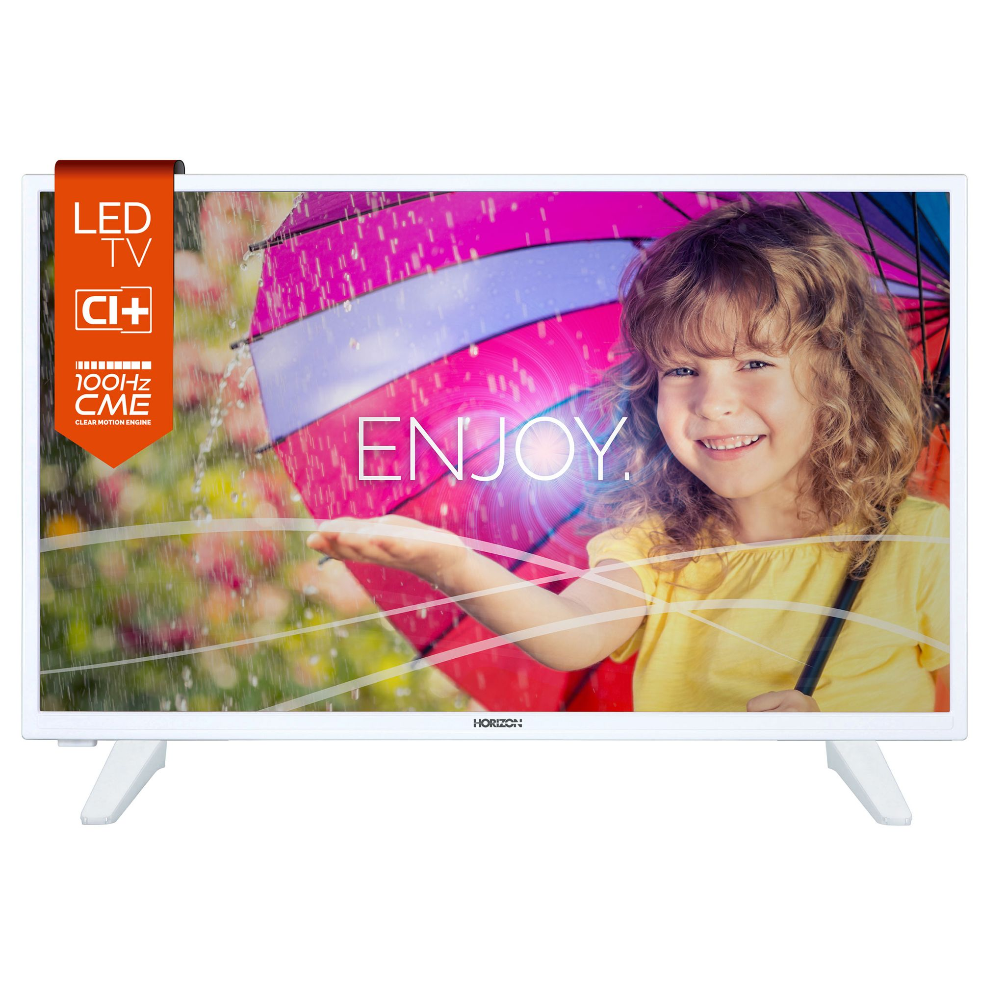 Televizor LED Horizon 80 cm HD Ready 32HL735H USB CI+ White