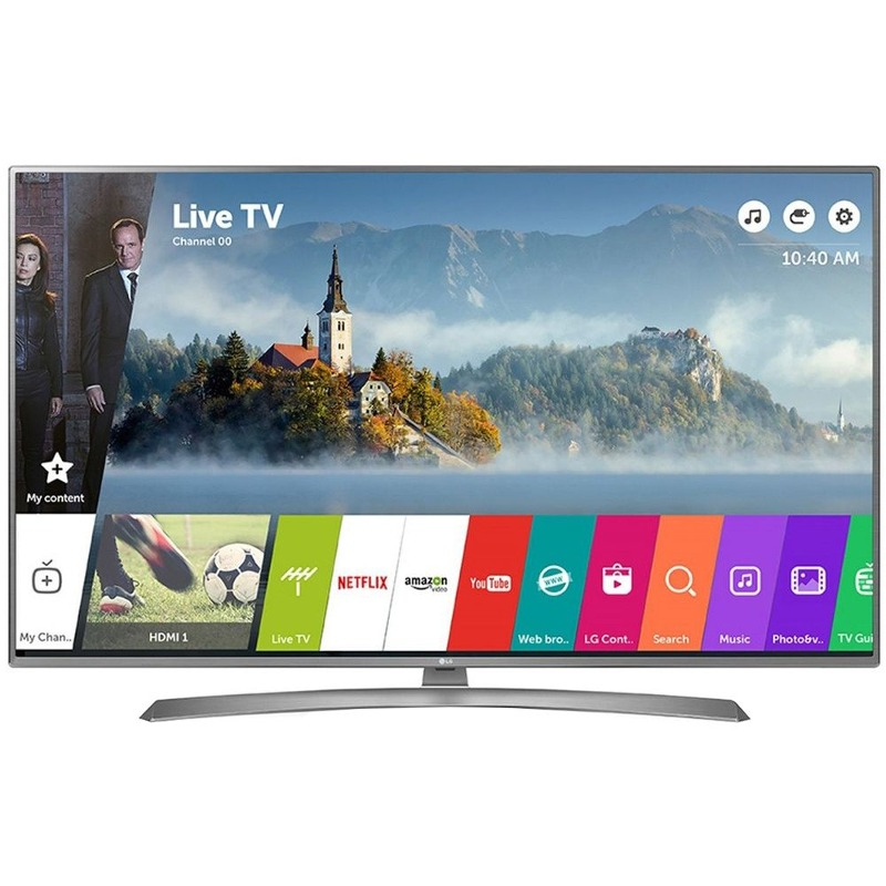 Televizor Smart Led Lg 108 Cm Ultra Hd 43uj670v Wifi Usb Ci+ Silver