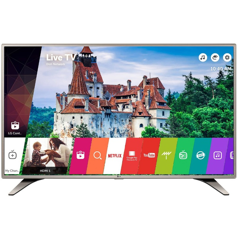 Televizor Smart LED LG 123 cm Full HD 49LH615V WiFi USB CI+ Silver