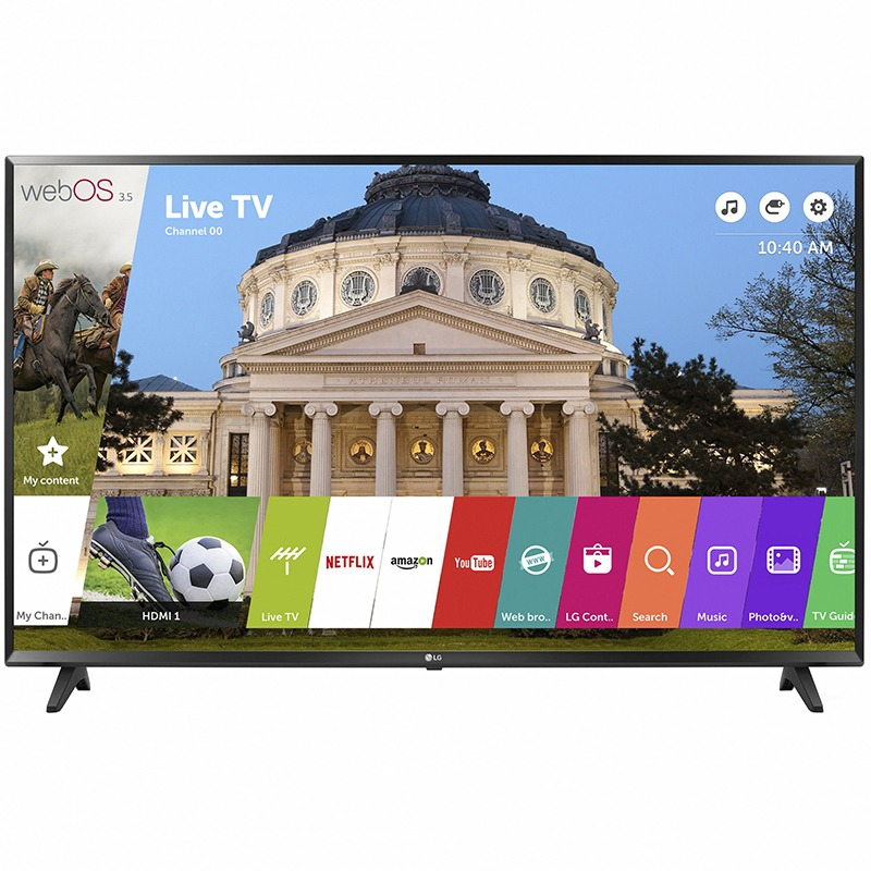 Televizor Smart Led Lg 123 Cm Full Hd 49lj594v Wifi Usb Ci+ Black