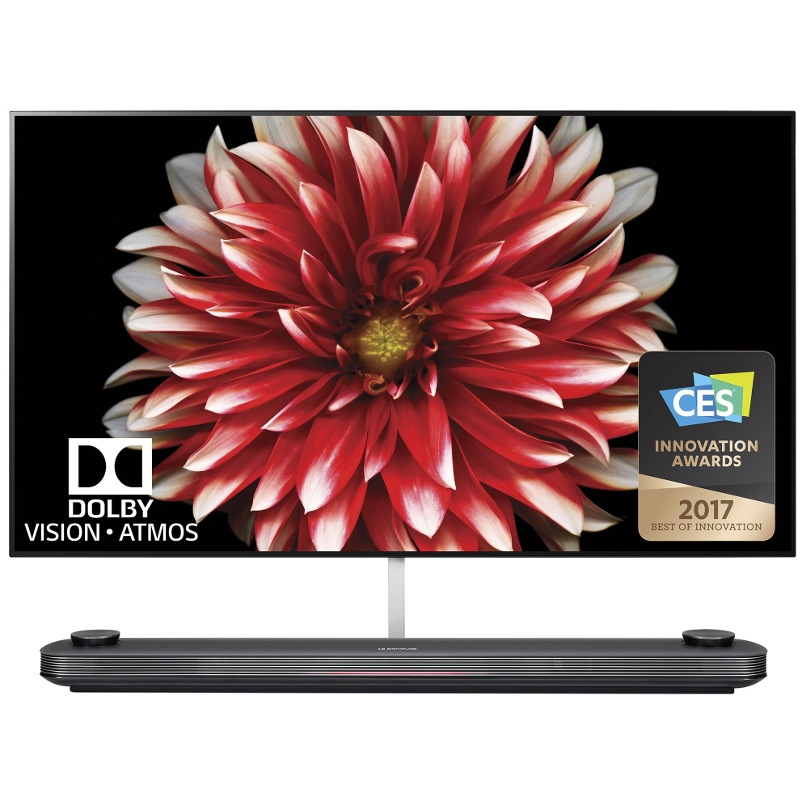 Televizor Smart OLED LG 164 cm Ultra HD 65W7V WiFi USB CI+ Black
