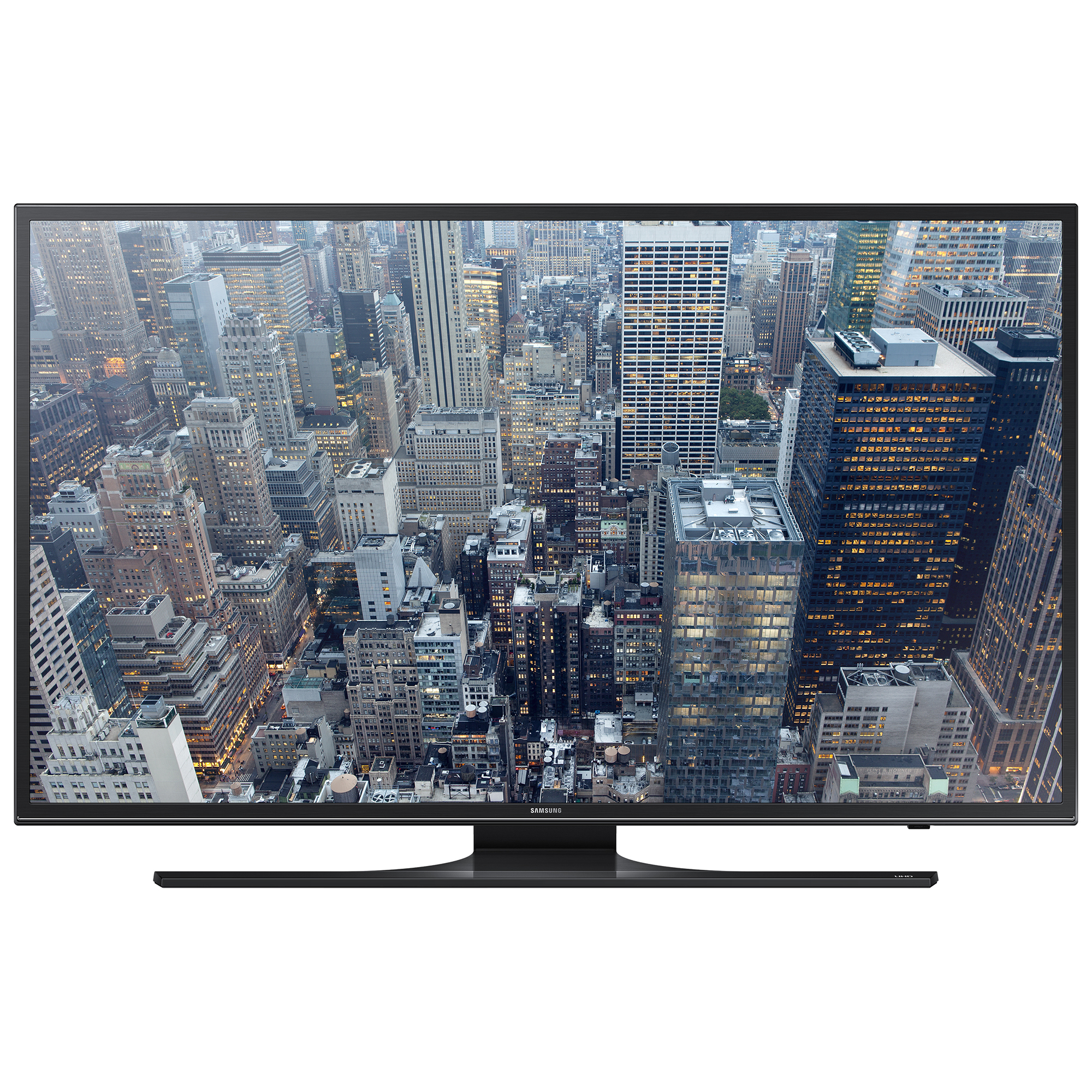 Televizor Smart LED Samsung 138 cm Ultra HD/4K 55JU6400 Quad Core USB CI+ WiFi OS Tizen Black