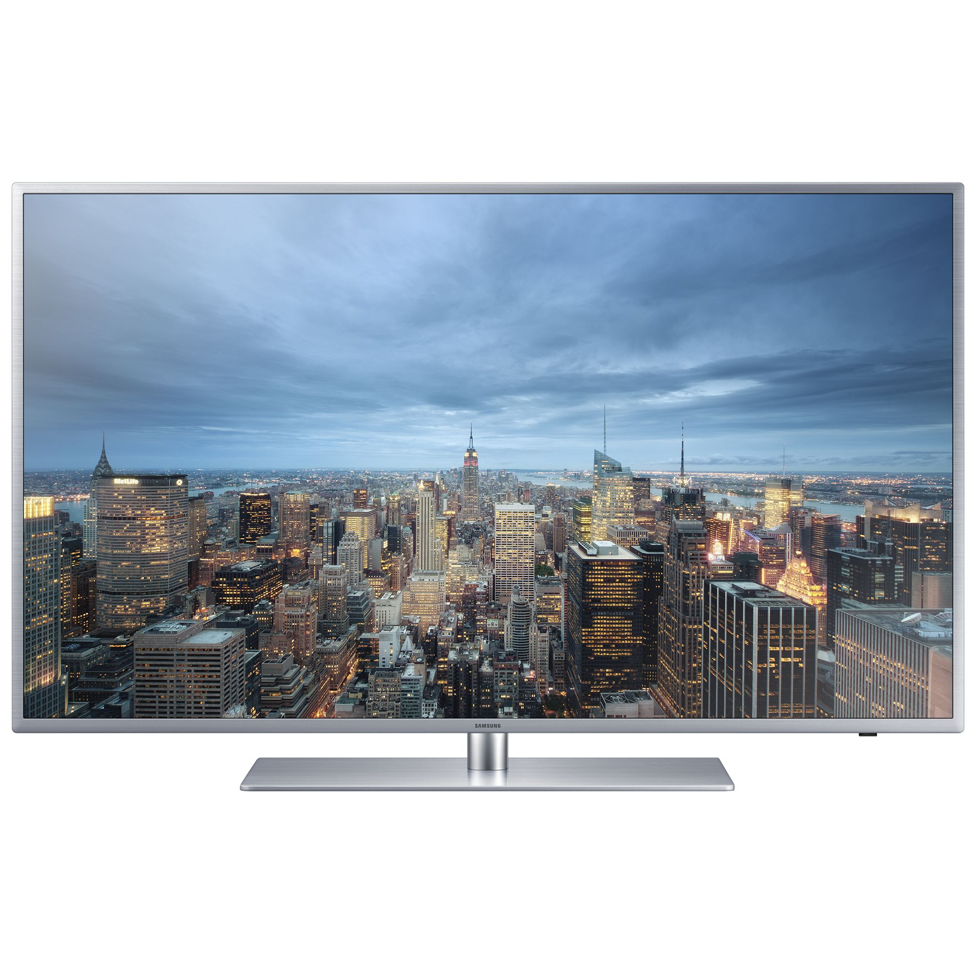 Televizor Smart LED Samsung 138 cm Ultra HD/4K 55JU6410 Quad Core USB CI+ WiFi OS Tizen Silver