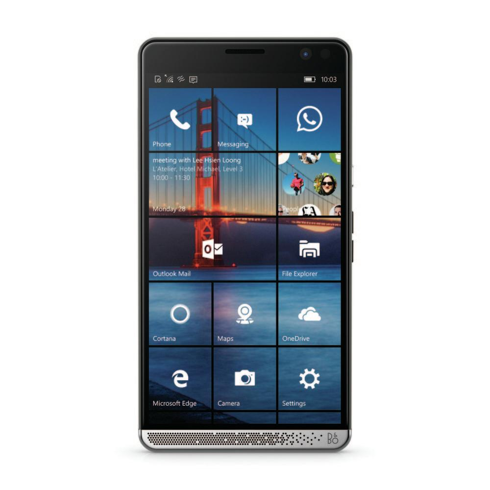 "Telefon mobil HP Elite X3 Qualcomm Snapdragon 820 Octa Core 2.15 GHz QHD Amoled 6.0"" 4GB RAM 64GB Win 10"