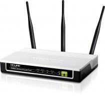ACCESS POINT TP-LINK WIRELESS 300MBPS ATHEROS 3T3R 2.4GHZ TL-WA901ND