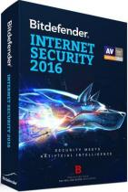 ANTIVIRUS BITDEFENDER INTERNET SECURITY 2016 NOU 1AN 3PC UB11031003