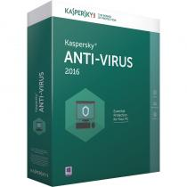 ANTIVIRUS KASPERSKY 2016 RETAIL 1AN 4PC KL1167OBDFS