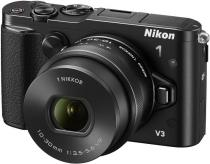 APARAT FOTO NIKON 1 V3 18.4 MP KIT 10-30MM VR PD-ZOOM BLACK