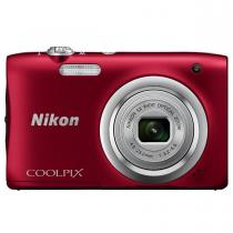 APARAT FOTO NIKON COOLPIX A100 20.1MP CCD RED