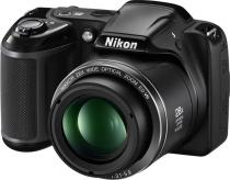 APARAT FOTO NIKON COOLPIX L340 20.2MP BLACK