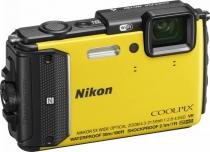 APARAT FOTO NIKON COOLPIX WATERPROOF AW130 DIVING KIT 16MP YELLOW