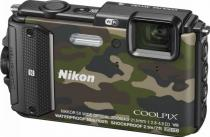 APARAT FOTO NIKON COOLPIX WATERPROOF AW130 OUTDOOR 16MP CAMOUFLAGE