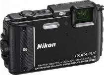 APARAT FOTO NIKON COOLPIX WATERPROOF AW130 OUTDOOR KIT 16MP BLACK