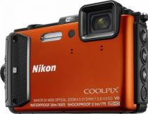 APARAT FOTO NIKON COOLPIX WATERPROOF AW130 OUTDOOR KIT 16MP ORANGE
