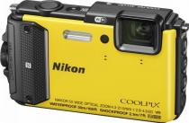 APARAT FOTO NIKON COOLPIX WATERPROOF AW130 OUTDOOR KIT 16MP YELLOW