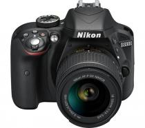 APARAT FOTO NIKON D3300 KIT AF-P 18-55MM 24.2MP BLACK