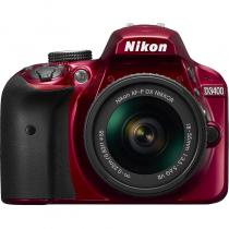 APARAT FOTO NIKON D3400 KIT AF-P 18-55MM VR 24.2MP RED