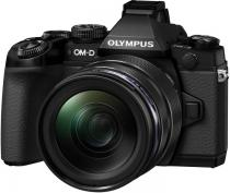 APARAT FOTO OLYMPUS E-M1 BODY + EZ-M1240 INCL. CHARGER & BATTERY