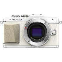 APARAT FOTO OLYMPUS E-PL7 BODY WHITE INCL. CHARGER + BATTERY