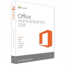 APLICATIE MICROSOFT OFFICE HOME AND BUSINESS 2016 ENGLISH 32/64BIT